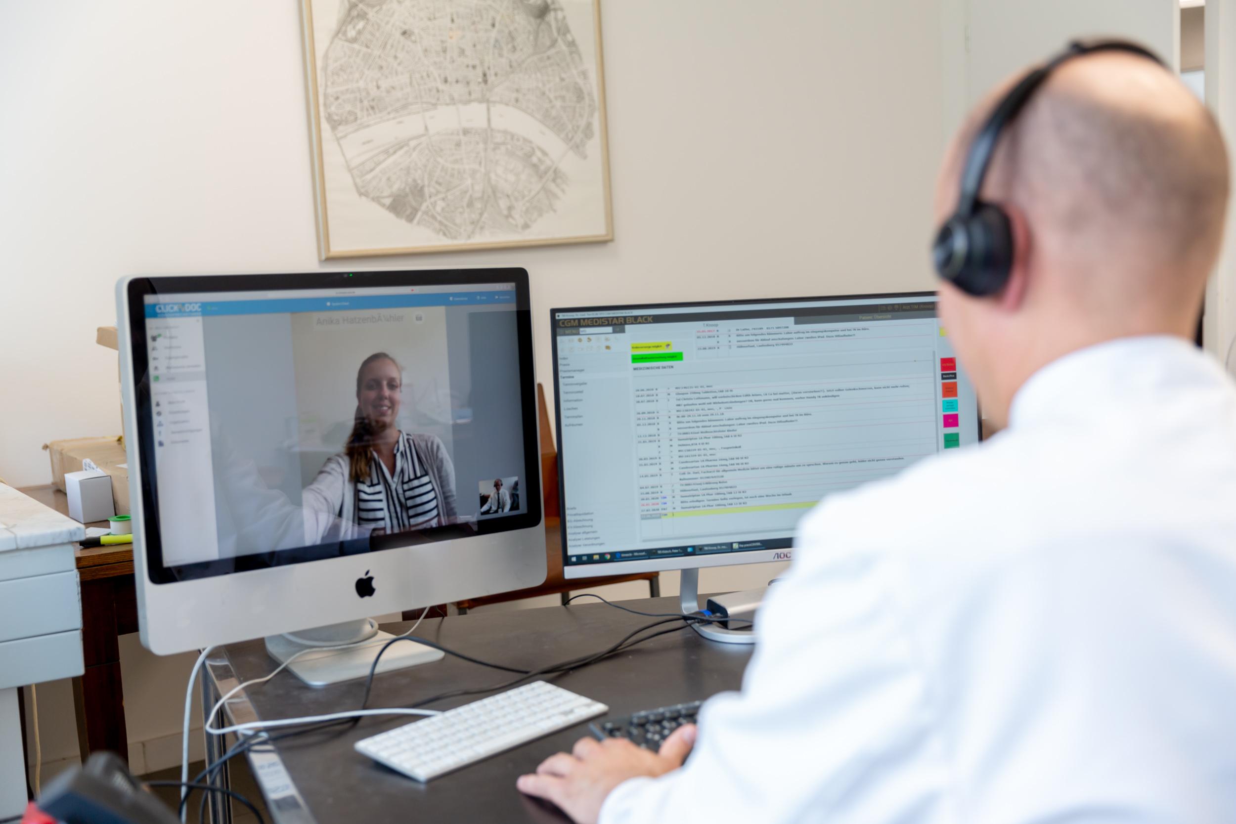 Facharzt für Allgemeinmedizin oder Innere Medizin (m/w/d) inkl. Homeoffice in Voll- und/oder Teilzeit